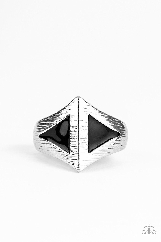 Crusader Black In 2020 Mens Silver Rings Rings For Men Black Rings