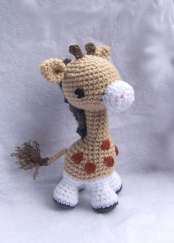 Giraffe baby rattle crochet pattern | Patrones amigurumi ... | 796x570