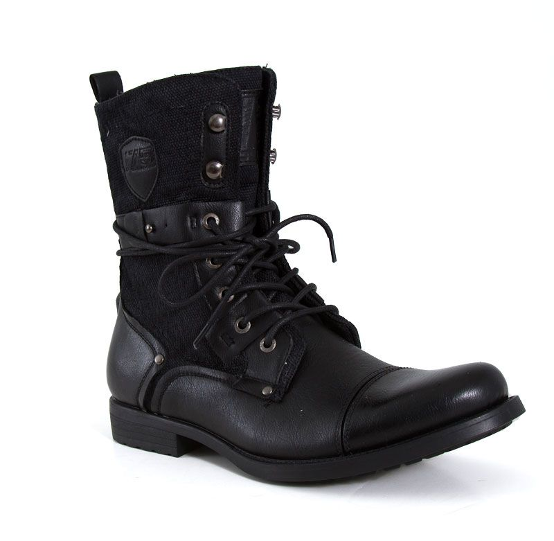 07b75101c12 J75 by Jump Deploy Combat Boots in Black | Boots | Combat boots ...