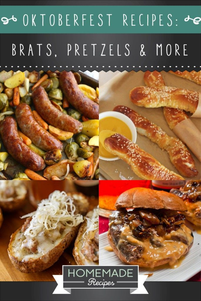 Oktoberfest Recipes To Keep The Party Going | Homemade Recipes