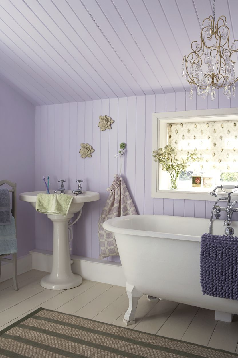 Adorable Shabby Chic Bathroom Ideas Country Style Bathrooms - Purple bathroom decor for small bathroom ideas