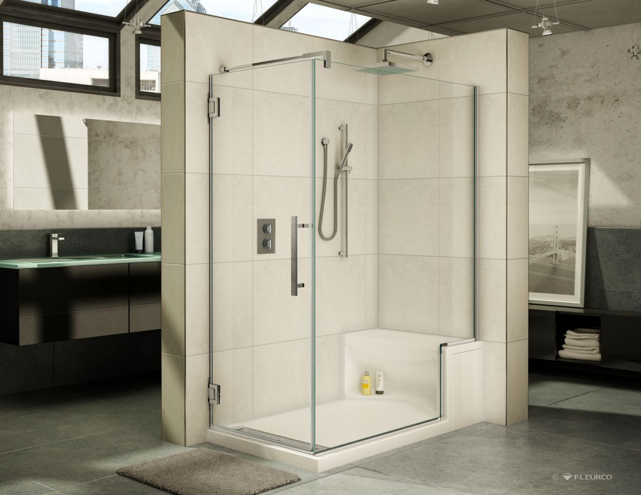 Introducing a Luxury Acrylic Shower Base Line with an Innovative ...