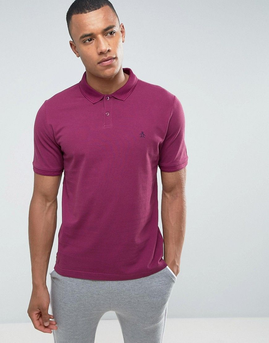 Original Penguin Winston Pique Polo Shirt | Products by ASOS | Pinterest