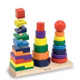 Kombinujte a třiďte těchto 25 krásných dřevených kousků u kterých je zlepšování dovedností součástí zábavy.