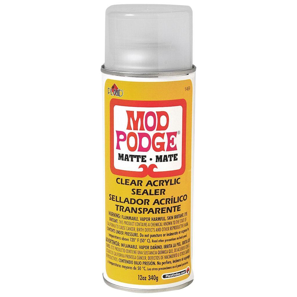 Mod Podge Clear Acrylic Sealer Matte