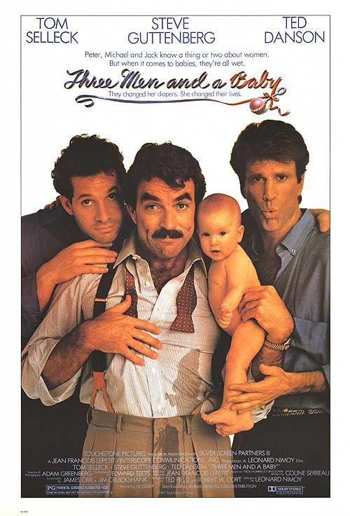 Tres Solteiroes E Um Bebe 1987 Filmes Comedia Posteres De