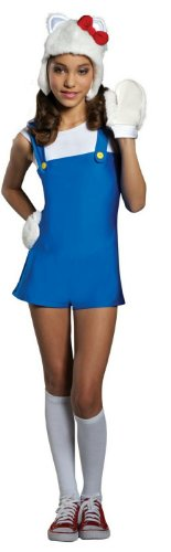 Hello Kitty Girls Costume Large -- Learn more by visiting the image link.Note:It is affiliate link to Amazon.