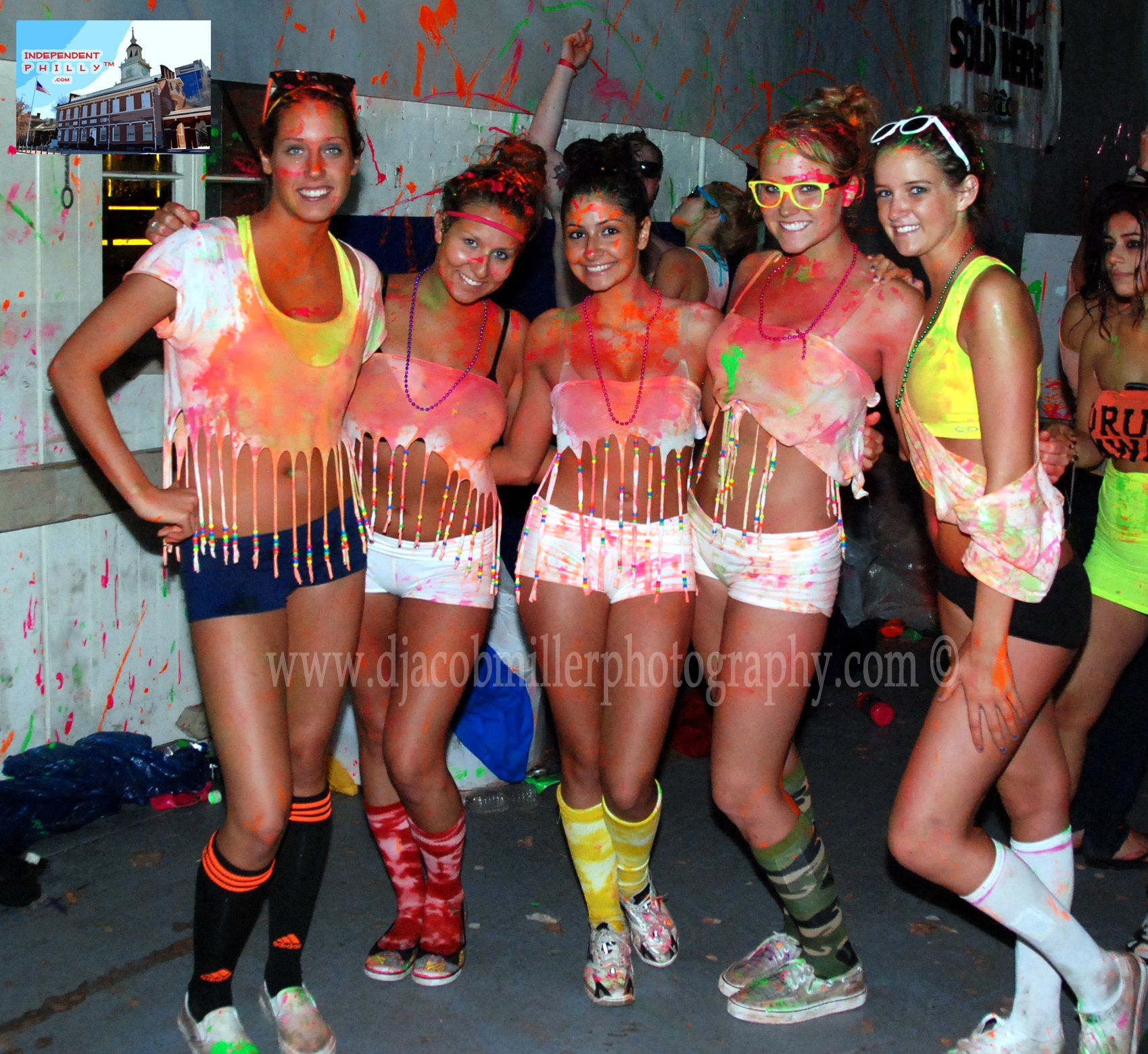 Paint Party Outfits