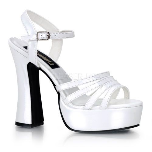Demonia DOLLY-25 5 Inch Chunky Heel Ankle Strap P/F Sandal 3qPlxPID5H