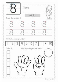 Free Math Worksheet Color To Make 8 Made By Teachers Free Math Worksheets Free Math Math Worksheet