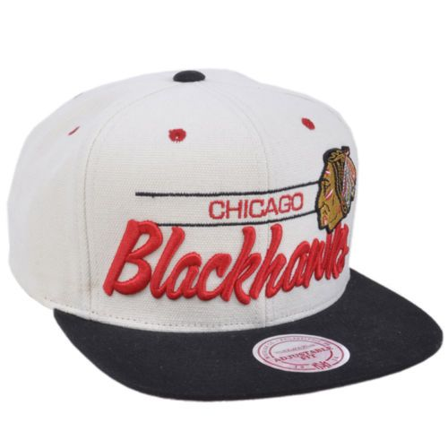 Mitchell Ness NHL Chicago Blackhawks City Bar Script Pro Hockey Snapback Hat  Mom this is the one I actually want! 925a6ca3f335