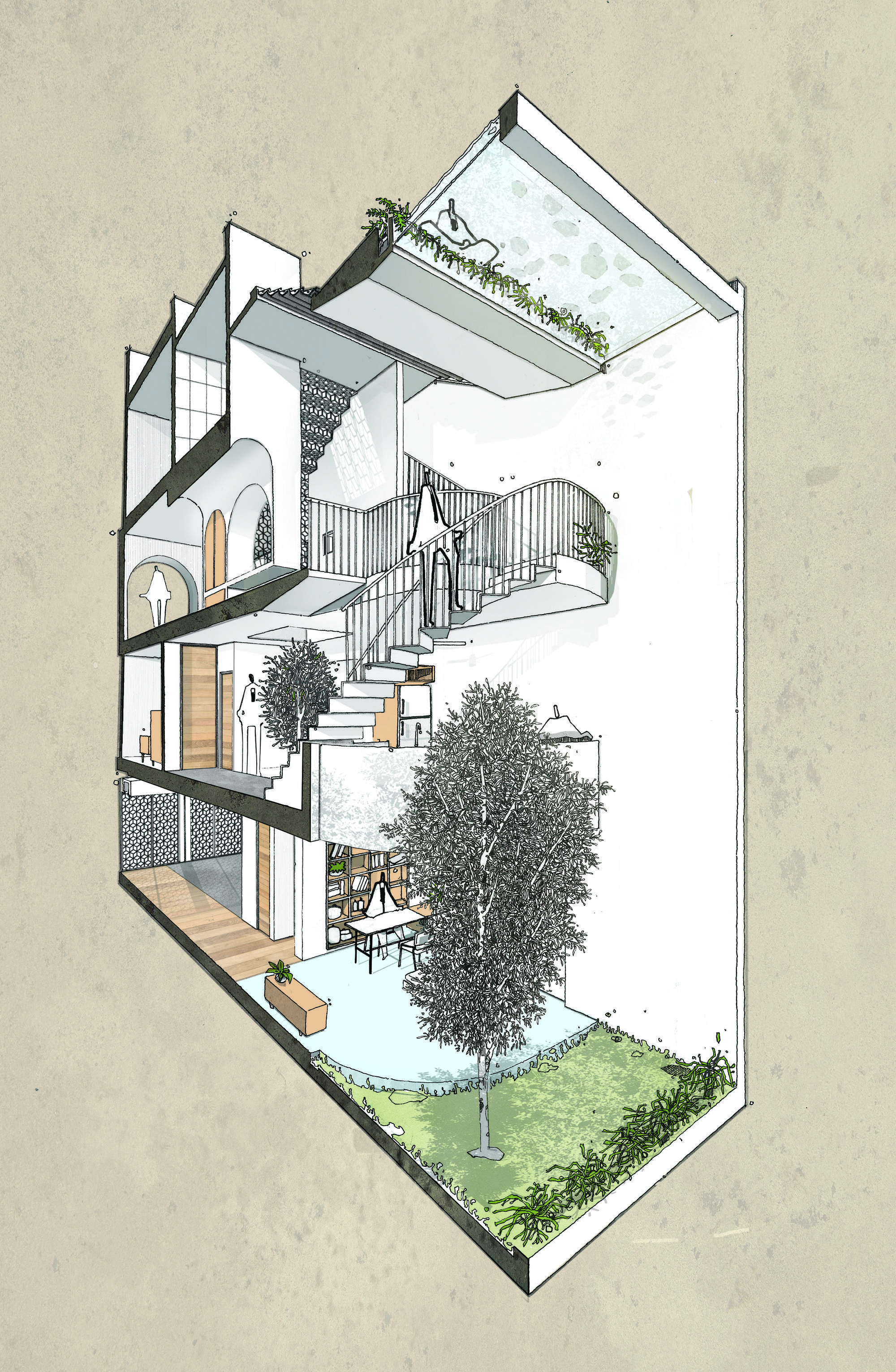 10 Spectacular Home Design Architectural Drawing Ideas Backyard House Architecture Drawing House Designs Exterior