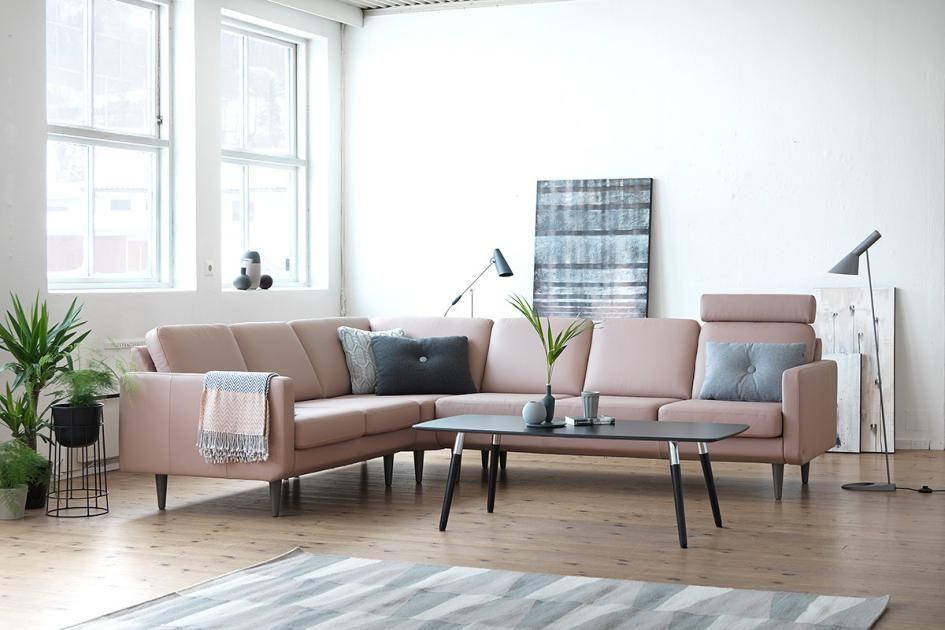 Gemeinsam ausspannen lounge modulare sofakollektion von stressless h o m y wohnzimmer - Ecksofa skandinavisches design ...