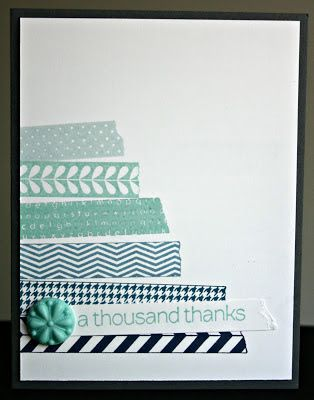 Klompen Stampers (Stampin' Up! Demonstrator Jackie Bolhuis): Technique Tuesday: Ombre Stamping