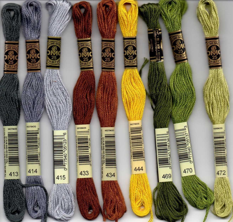 DMC Hilo de Algodón Trenzado Color 3687 para el bordado /& Cross Stitch