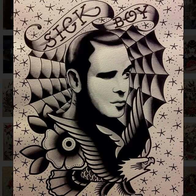 Sick Boy Tattoo Kokkola