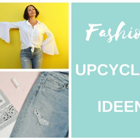 8 DIY Fashion Upcycling Ideen | DIY MODE