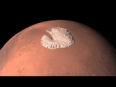 Take a Virtual Spin Around Mars' North Pole