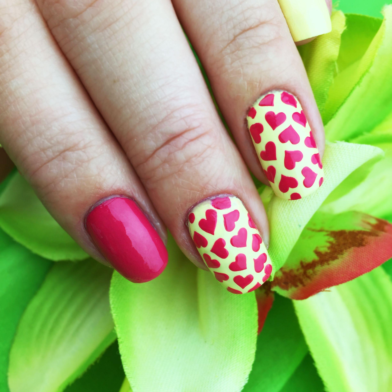 Love Potion Nail Art Stencils - incredible hearts nail art vinyls by ...