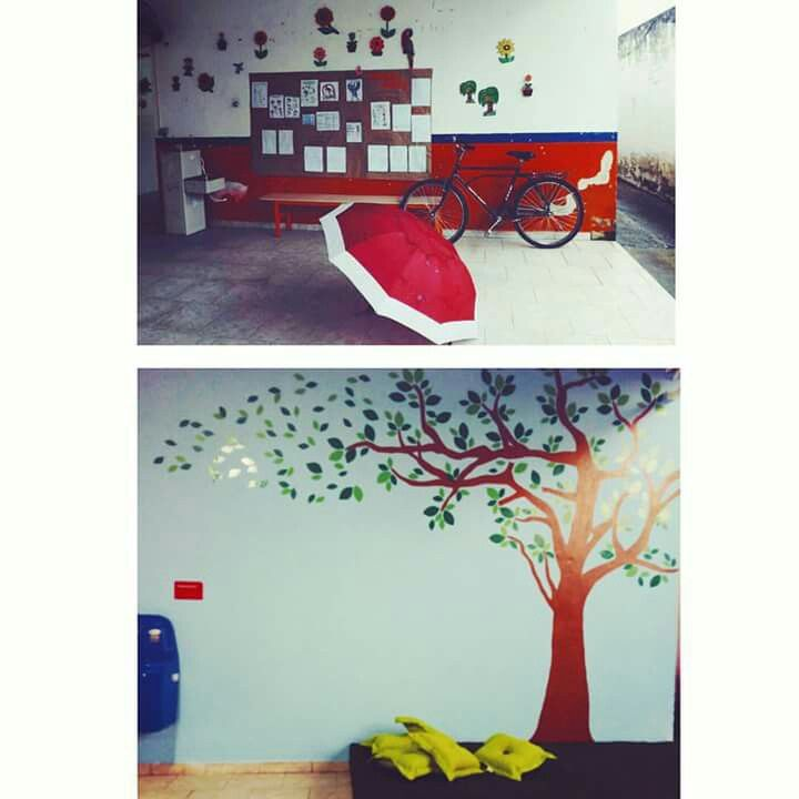 Projeto casa real  2015 - Reforma  CADEVI (Centro de Atendimento ao Deficiente Visual ) : Pátio
