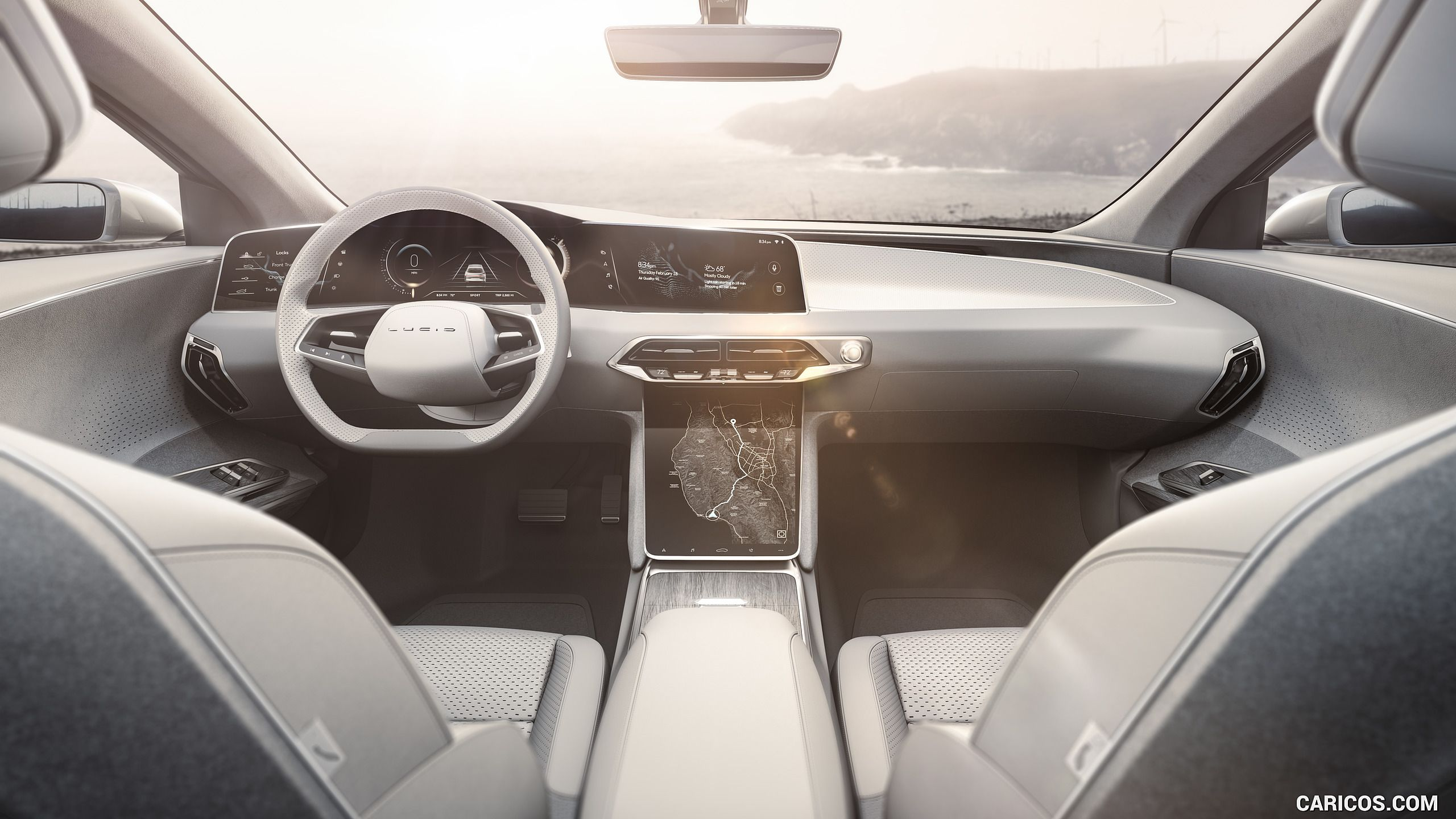 2019 Lucid Air Wallpaper Car Design Car Interior Sketch