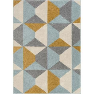 Well Woven Mystic Zeke Modern Bohemian Vintage Southwestern Gold 5 ft. 3 in. x 7 ft. 3 in. Area Rug-MC-251-5 - The Home Depot #setinstains