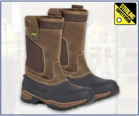 86b75f2394f Apache Traction Waterproof Rigger Boot | Mens Safety Boots | Rigger ...