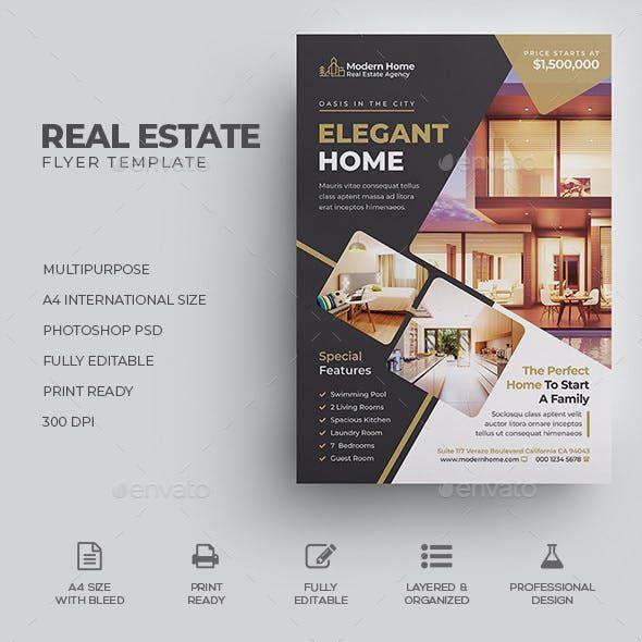 real estate flyer in 2020
