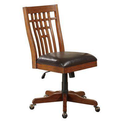 Winners Only Zahara Side Chair With Pump Medium Oak Gz270sp