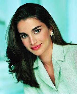Pin Su Queen Rania Of Jordan