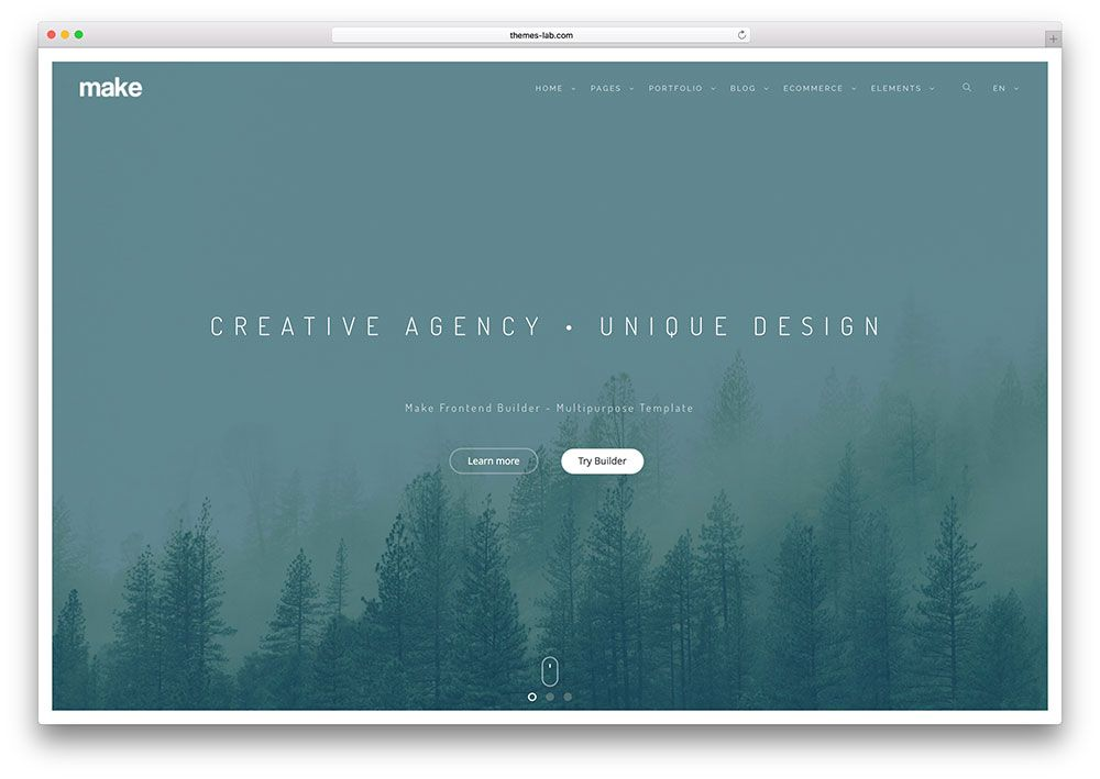 Bootstrap Website Templates Makecreativebootstraphtml5Websitetemplate   Inspo Deeds