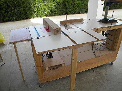 Outstanding 6 In 1 Multi Power Tool Work Bench Woodworking Gmtry Best Dining Table And Chair Ideas Images Gmtryco