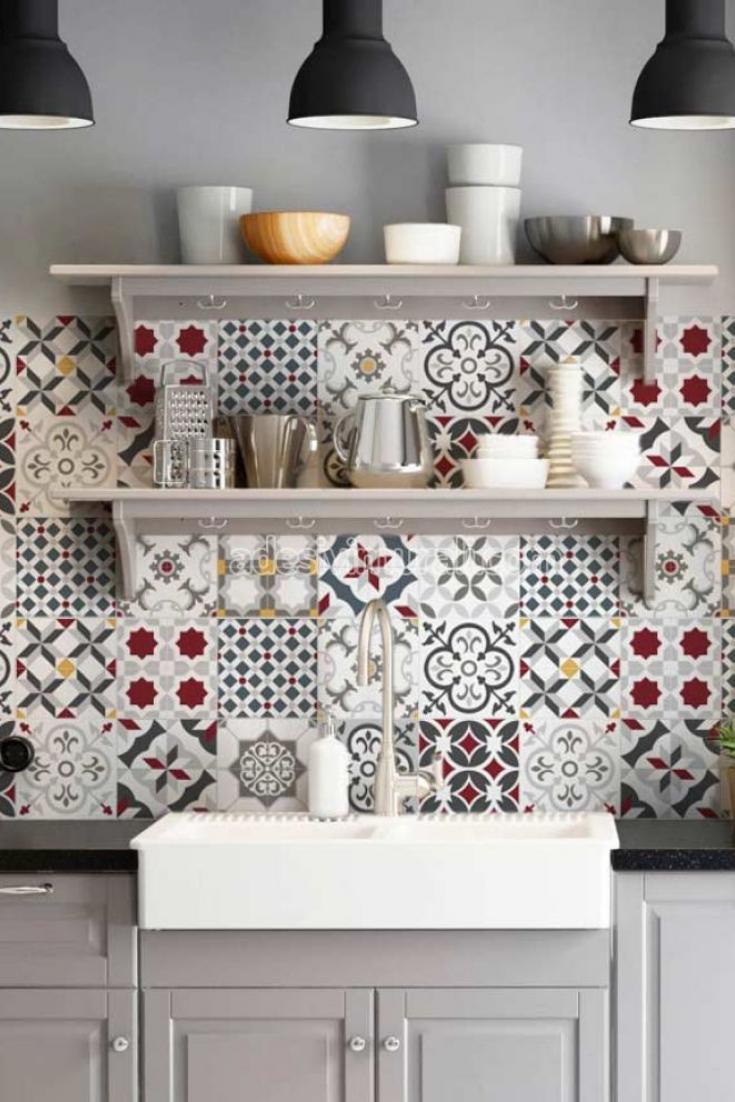 Piastrelle Pvc Adesive Cucina leopoli | piastrelle, idea di decorazione e decorazioni