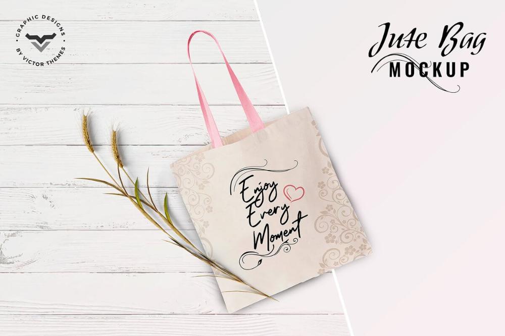 Download 20 Useful Jute Bag Mockup Psd Templates 28 Bag Mockup Psd Template Free Jute Bags