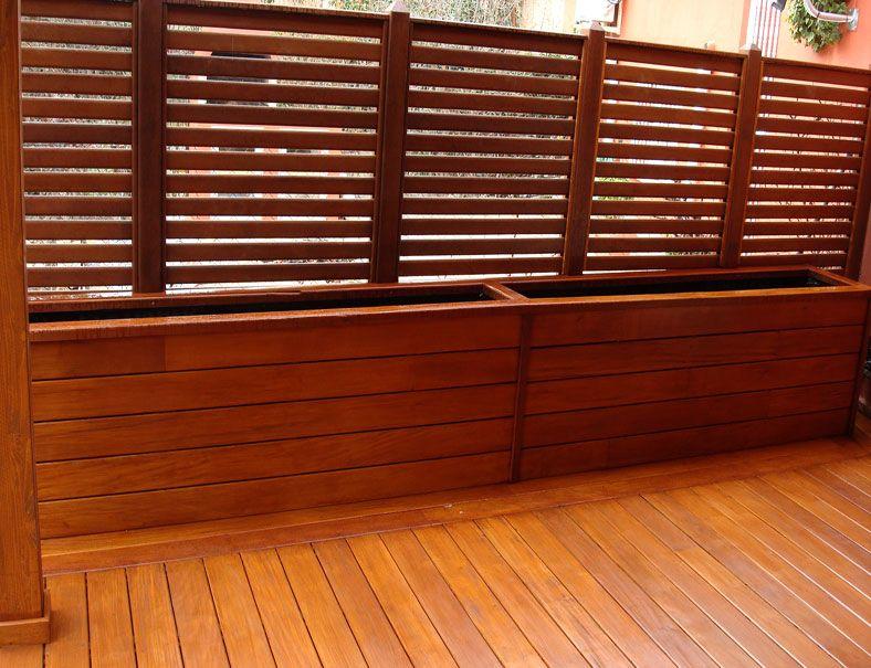 Tarimas madera terraza madrid tarimas de exterior en for Balcones madera exterior