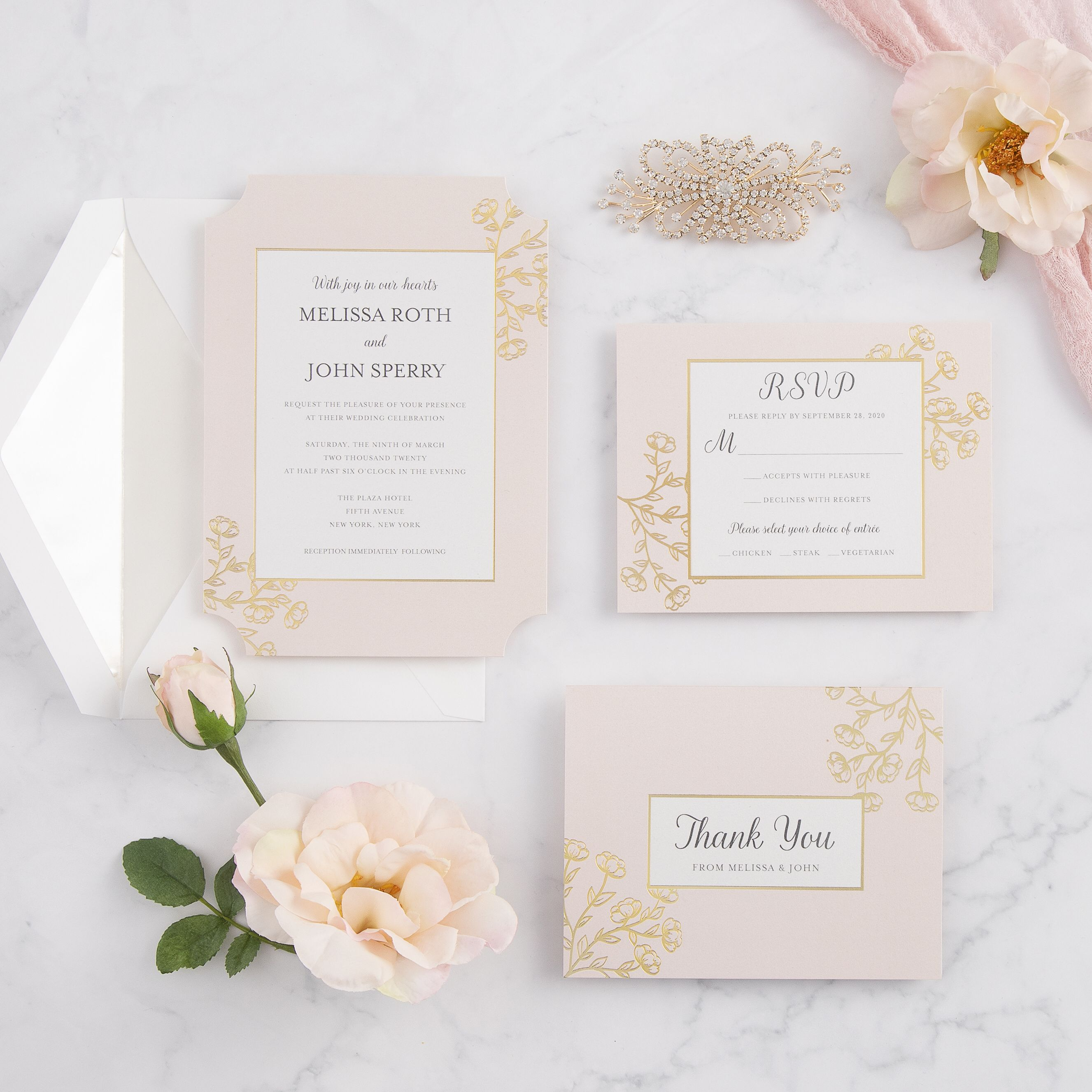 Classic Signature Wedding Invitations By David Tutera Wedding Invitations Wedding Invitation Kits Fun Wedding Invitations