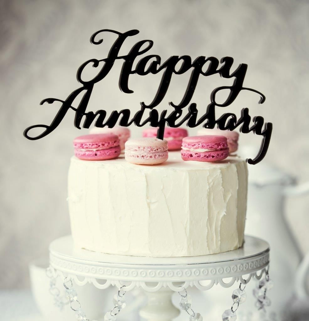 Images Of Happy Anniversary Cakes  Happy anniversary cakes, Gold