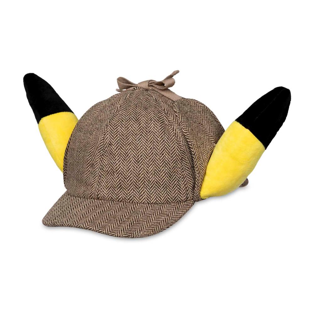Pokemon Detective Pikachu Plush Ears Hat Pokemon Center Original Pikachu Plush Pikachu Hat Pikachu