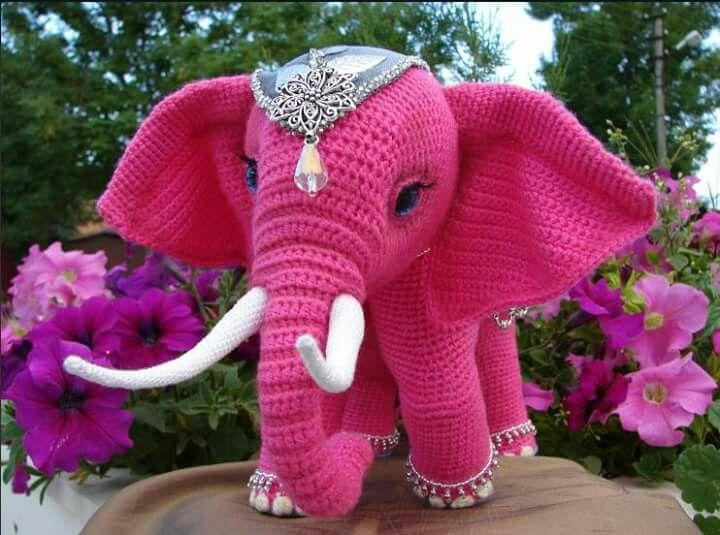 elefante | amigurumi | Pinterest | Elefantes, Patrones amigurumi y ...