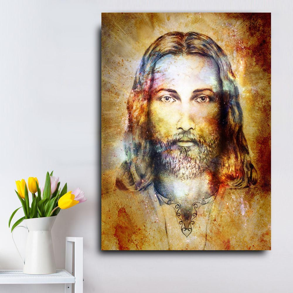 Jesus Christ Canvas Print Wall Art Looking For A Great Jesus Canvas Print For Your Home This Single Piece Je Jesus Wall Art Canvas Print Wall Wall Art Prints