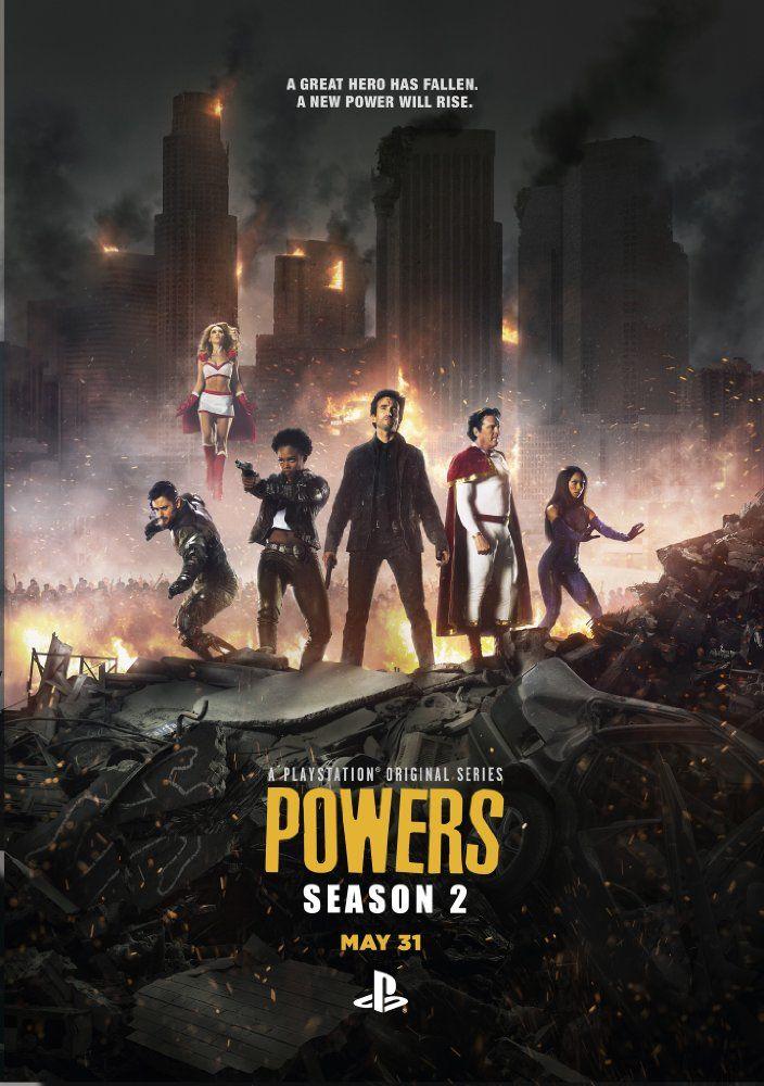 Powers 2015 Power Season Power Tv Series Power Season 2