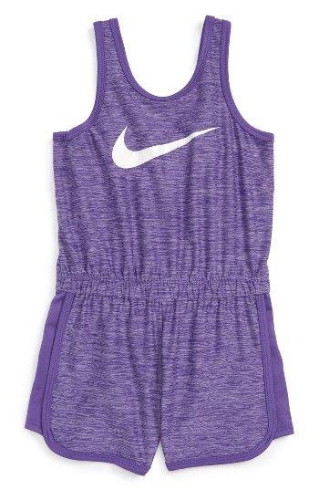 Nike Sport Essentials Dri-FIT Romper (Toddler Girls & Little Girls) |  Nordstrom