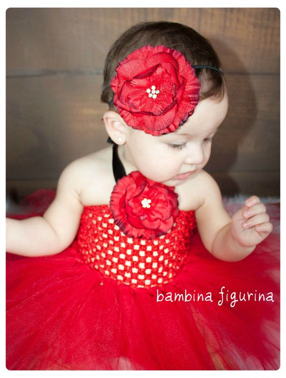 Red Hot Glamour Christmas Valentine's day by bambinafigurina