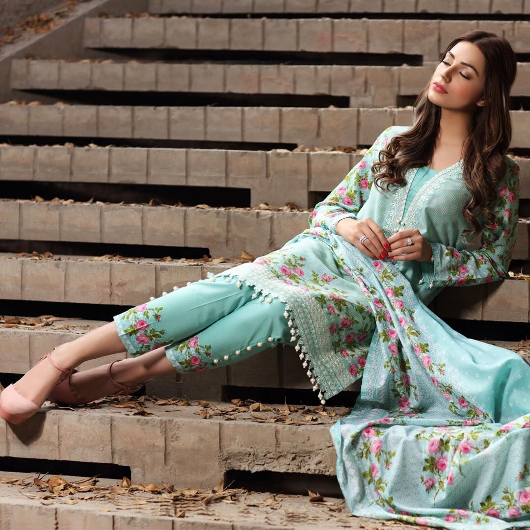 5c80fbf485 MauSummery by Huma Spring Lawn 2018 now available exclusively at our stores  and through our Facebook