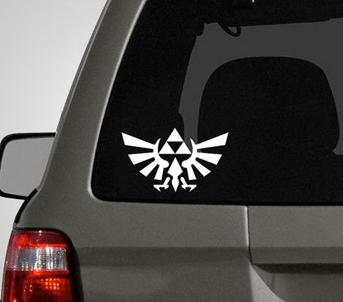 Zelda Car Decals