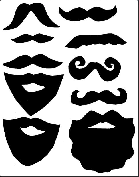 Moldes de barbas