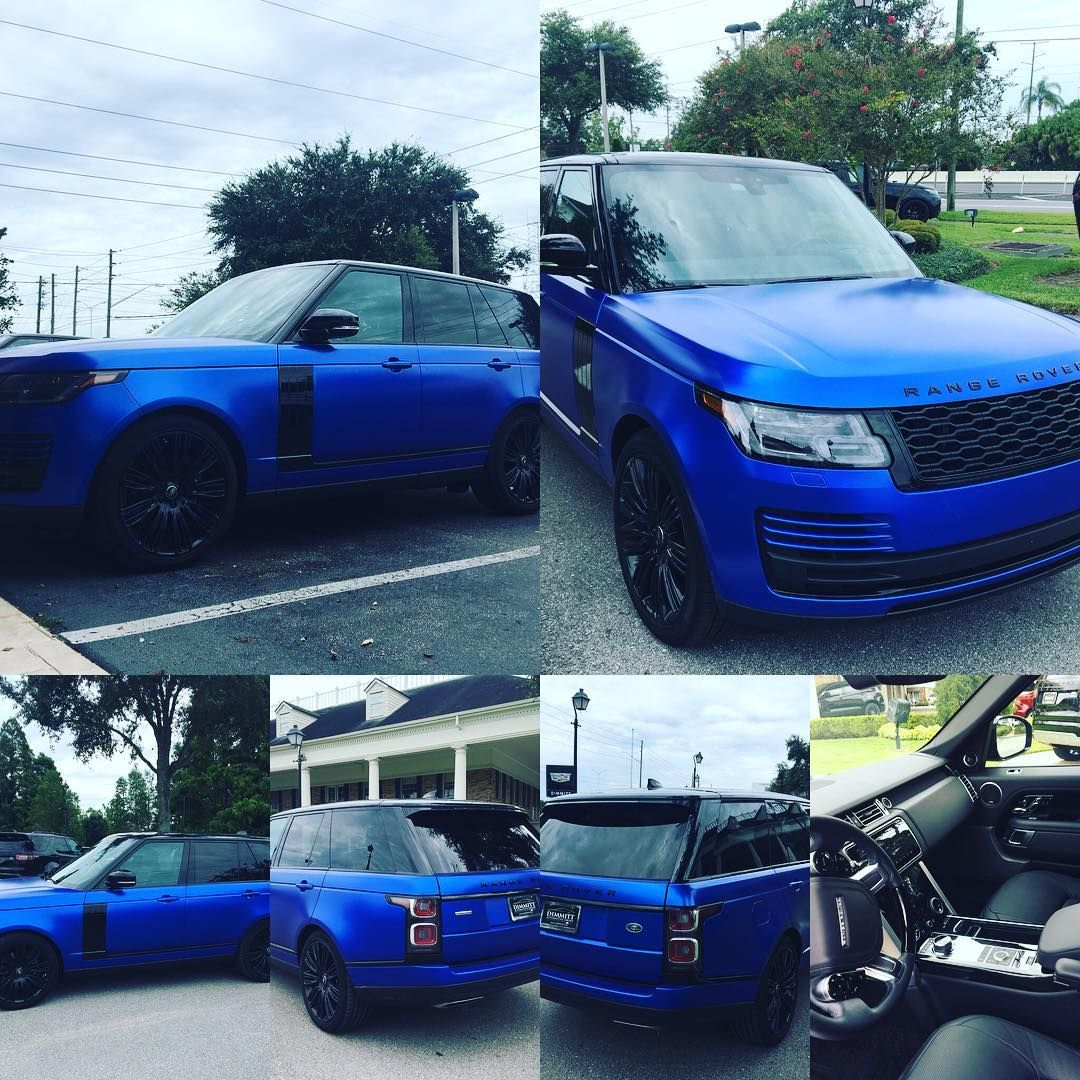 Johnny Cee On Instagram 2018 Supercharged 6610 Miles Drive Pro Vision Assist Available As Of 8 29 1230pm Velocityblue Svopain Land Rover Johnny Instagram