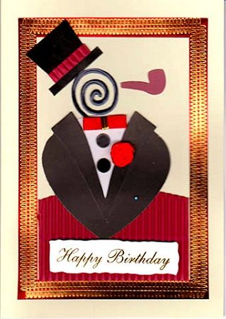 Happy birthday card for man my birthday pinterest happy happy birthday card for man bookmarktalkfo Image collections