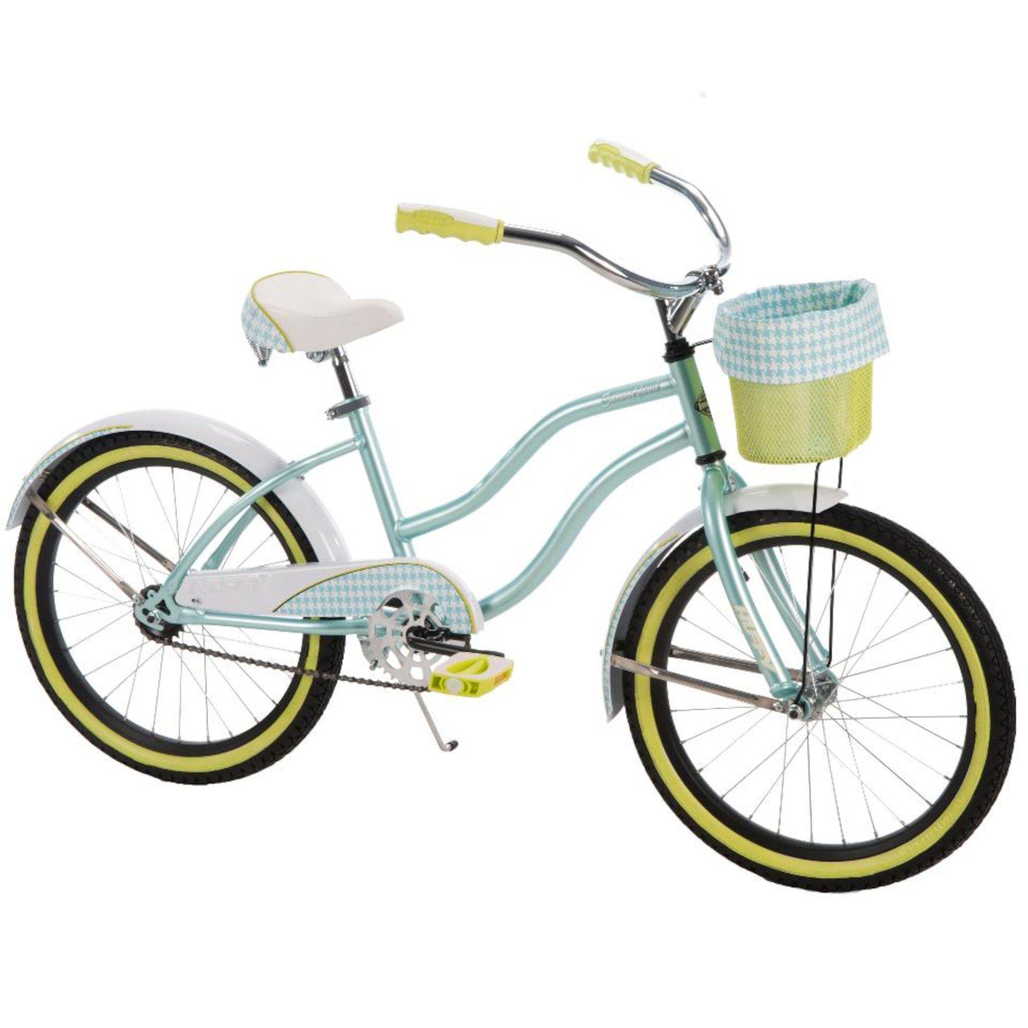 Girls 20 Inch Huffy Summerland Cruiser Bike Cruiser Bike Bicycle Bike