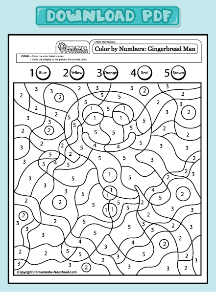 Math Worksheets gingerbread math worksheets : Preschool Worksheets: Do it in Spanish to practice numbers in ...